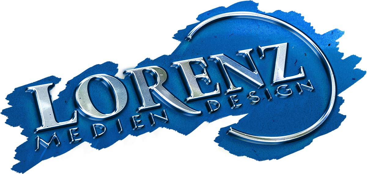 Logo Lorenz Mediendesign washed