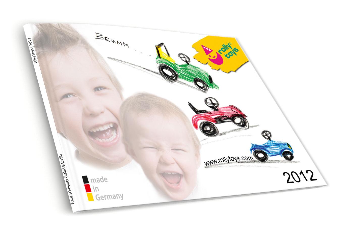 Rolly Toys Endverbraucherkatalog 2012 Titel