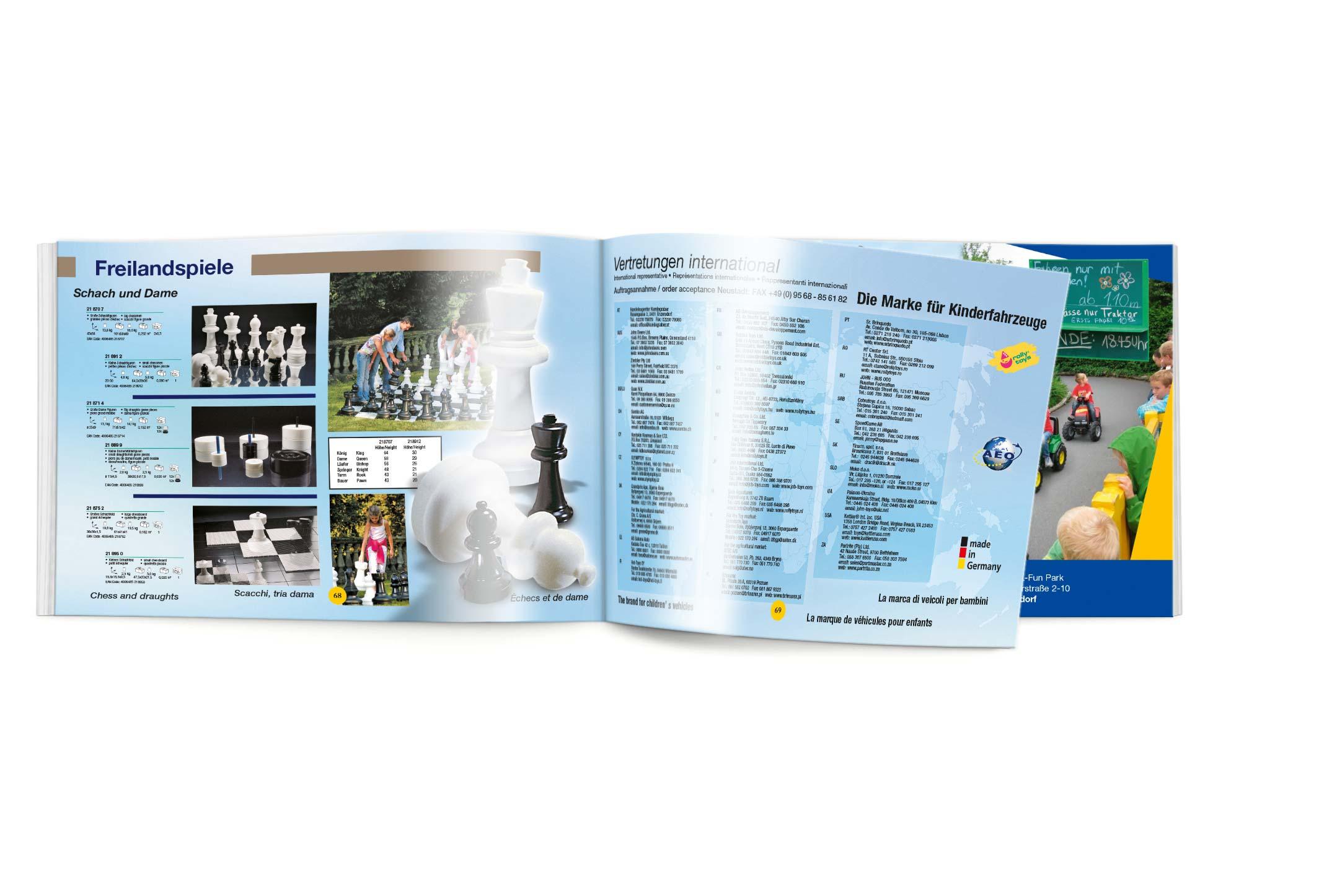 Rolly Toys Endverbraucherkatalog 2012 Seiten