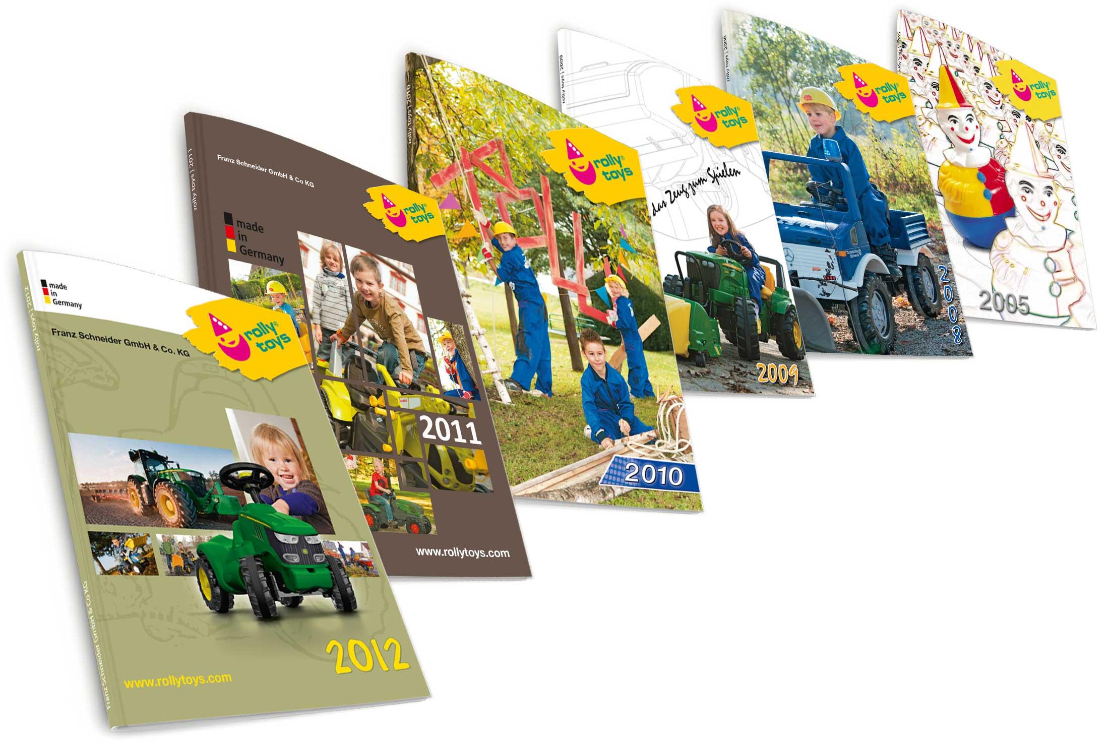 Rolly Toys Kataloge