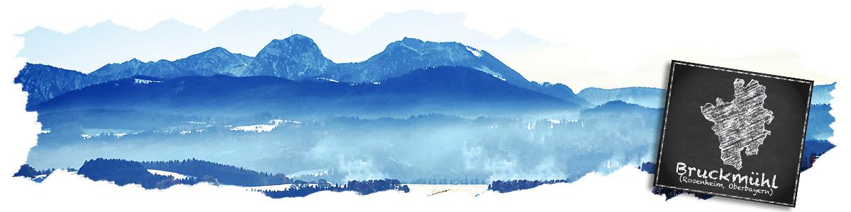 Wendelsteingebirge Bruckmühl